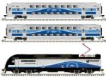 50004406 Atlas  1:160, N Gauge #D# Master Multilevel Commuter Train Pack AMT